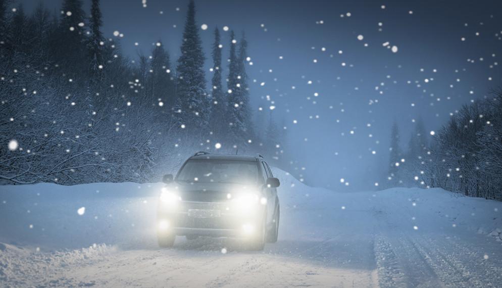 Verglas et neige : comment conduire sans stress